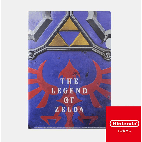 Carpeta  TLOZ Hylian Shield Nintendo Tokyo
