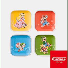 Platos Soya Mario Family Nintendo Tokyo