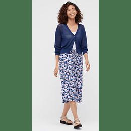 Shorts 3/4 Uniqlo Relaco Blue (tallas japonesas)