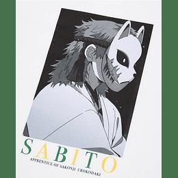 Polera Kimetsu NO Yaiba Sabito (tallas Japonesas)