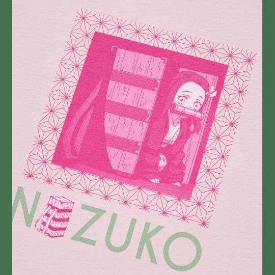 Polera Kimetsu No Yaiba Nezuko (tallas Japonesas)
