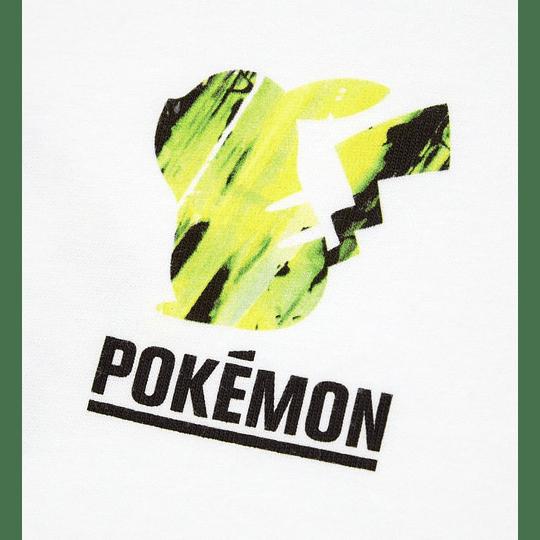 Polera Uniqlo Pokémon Meets Artist Pikachu Thunder (tallas Japonesas)