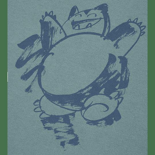 Polerón Uniqlo Pokémon Meets Artist Snorlax  (tallas Japonesas)