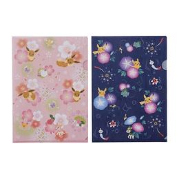 Set Dos Carpetas Pokémon Center Cherry Blossom