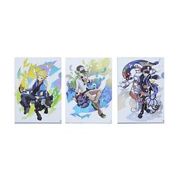 Set 3 Carpetas A4 Pokémon Trainers