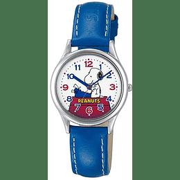 Reloj Snoopy Q&Q Blue Strap