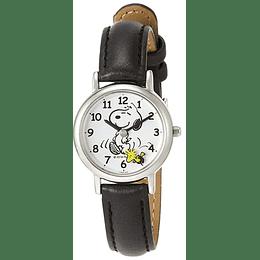 Reloj Snoopy Q&Q black Strap B