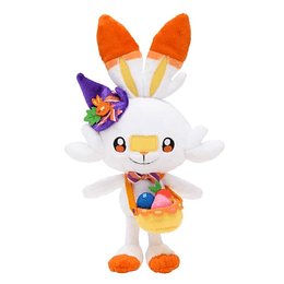Peluche Scorbunny Halloween 2021 Pokemon Center