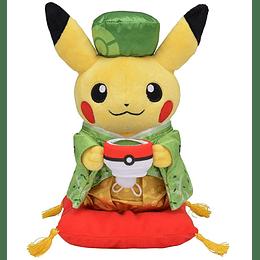Peluche Male Pikachu Ceremonia del Te Pokemon Center