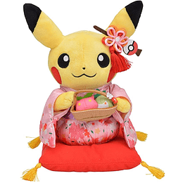 Peluche Female Pikachu Ceremonia del Te Pokemon Center