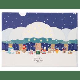 Carpeta Winter - Kirby Café
