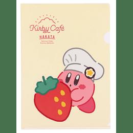 Carpeta Strawberry - Kirby Café