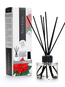 Mikado Black Ed Poinsettia 125 ml