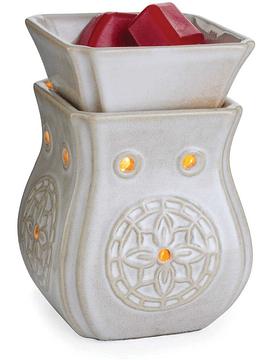 Lámpara y Calentador de Cera Aromática Mini Insignia