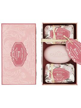 Caja 3 Jabones 150 g Rosa