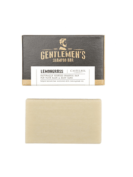 Mini Shampoo en Barra Gentlemen's Lemongrass 35 g
