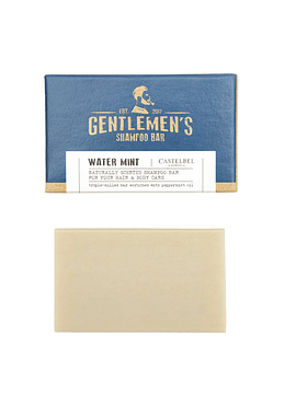 Mini Shampoo en Barra Gentlemen's Water Mint 35 g