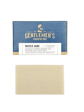 Mini Shampoo en Barra Gentlemen's Water Mint 35 g