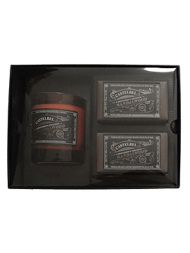 Set Vela/Jabones Gentleman's Exclusive Sandalwood