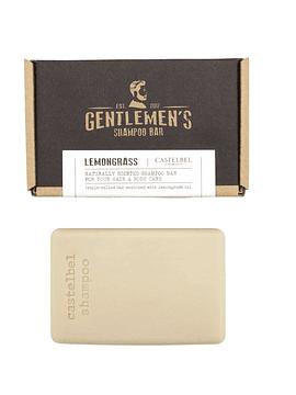 Shampoo en Barra Gentlemen's Lemongrass 180 g