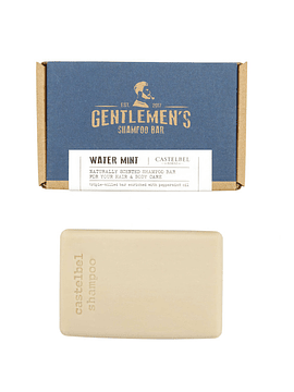 Shampoo en Barra Gentlemen's Water Mint 180 g