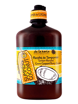 Crema Corporal Summer Coconut 250 ml