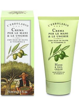 Crema Manos y Uñas Oliva y Vit E 75 ml