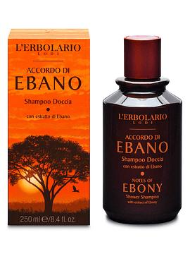 Shampoo Pelo y Cuerpo Notas de Ebano 250 ml
