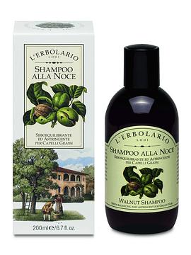 Shampoo Nuez Pelo Graso 200 ml