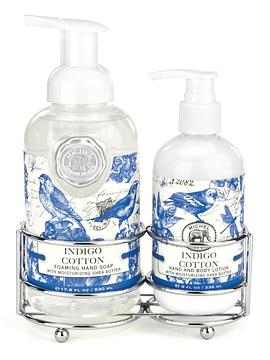 Set Jabón Líquido/Loción Corporal Indigo Cotton