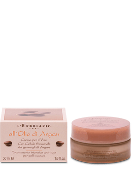Crema Cara Argán Tratamiento Antiedad 50 ml
