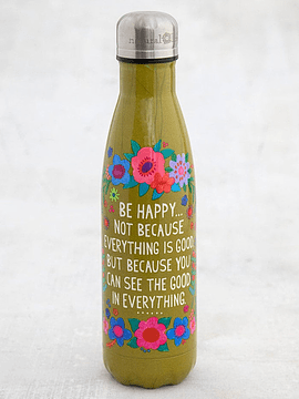 Botella de Agua Be Happy 500 ml
