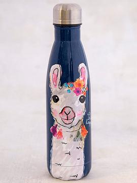 Botella de Agua Happy Foral Llama 500 ml