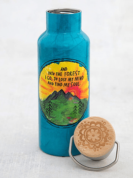 Botella de Agua Into the Forest 530 ml