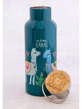 Botella de Agua No Drama Llama 530 ml