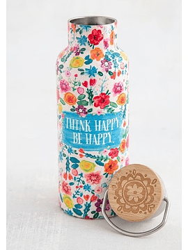 Botella de Agua Think Happy 530 ml