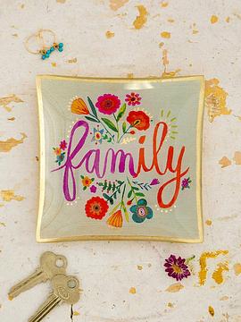 Plato Vidrio Pequeño Family