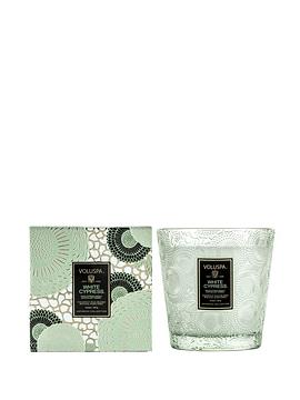Vela Vidrio en Caja White Cypress 467 g