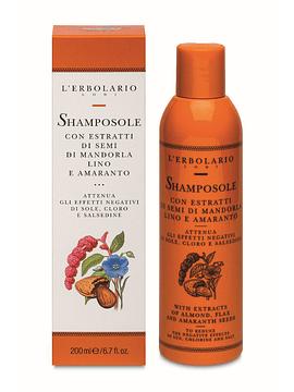 Shampoo Solar con Almendra, Linaza y Amaranto 200 ml