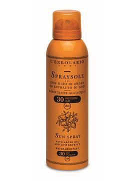 Factor Solar Spray SPF 30 Aceite de Argán y Extracto de Goji 150 ml