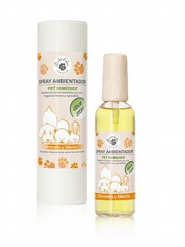 Spray Ambientador Pet Remedies Citronela y Menta 100 ml