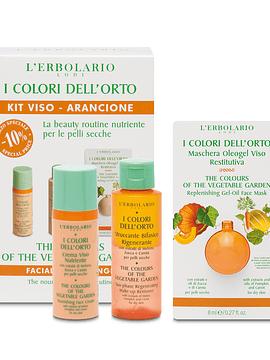 Set Facial Nutritivo Colores del Huerto