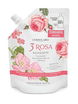 Recarga Gel Ducha y Baño 3 Rosa 500 ml