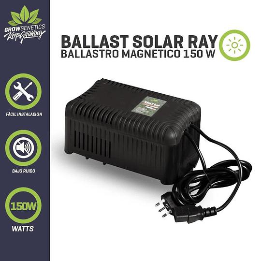 Balastro Solar Ray 150w Plug And Play   Grow Genetics