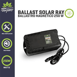 Ballast Solar Ray 250w Plug And Play   Grow Genetics