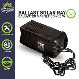 Ballast Solar Ray 400w Plug And Play   Grow Genetics