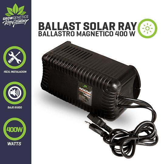 Balastro Solar Ray 400w Plug And Play   Grow Genetics
