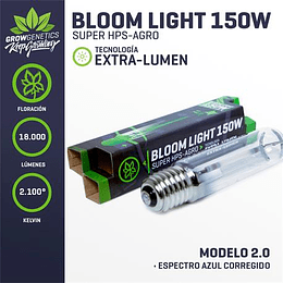 Ampolleta Sodio 150w Extra Lumen - Grow Genetics