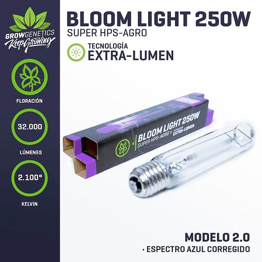 Ampolleta Sodio 250w Extra Lumen - Grow Genetics
