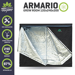 Carpa- Grow Room 240x120  Grow Genetics